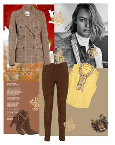 """""""Fall Outfit"""" by lindsaywassel on Polyvore featuring Miu Miu, Ralph Lauren, Tracy Reese, Erickson Beamon and Etro"""