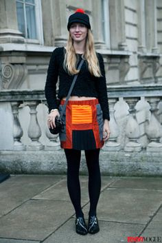 Standout Street Style Straight from London Fashion Week