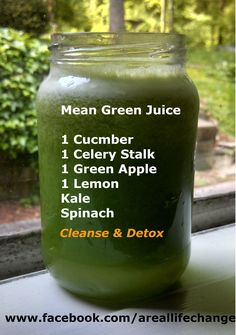Mean Green Juice Recipe http://eatdojo.com/healthy-smoothies-weightloss-detox-clean/ http://eatdojo.com/healthy-smoothies-weightloss-detox-clean/