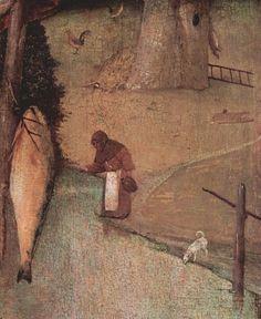 Bosch, Hieronymus: Hl. Christophorus, Detail