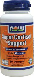 NOW Foods Super Cortisol Support with Relora 90 Vcaps - Swanson Health Products