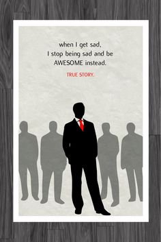 How I Met Your Mother Barney Stinson Suit Up Poster Art 11x17. $14.99, via Etsy.
