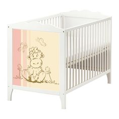 SHEEP STICKER-SET FOR THE BABY BED IKEA HENSVIK