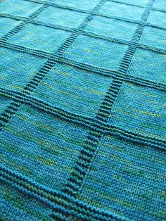 Ravelry: Block Baby Blanket pattern by Kristin Spurkland
