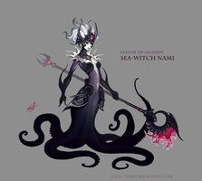 Sea Witch Nami by Shockowaffel