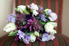 No/Low Scent Bouquet in my colors! Kale, tulips, anemones, lisianthus, sweet pea flowers......