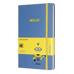 Moleskine Limited Edition Minions, Notebook, Large, Ruled, B29 Blue (5 x 8.25): Moleskine: 8055002855396: Books - Amazon.ca