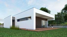 DOM.PL™ - Projekt domu NA A-11 CE - DOM NA1-02 - gotowy koszt budowy Garage Doors, Shed, House Design, Outdoor Structures, Dom, Outdoor Decor, Home Decor, Homemade Home Decor, Backyard Sheds