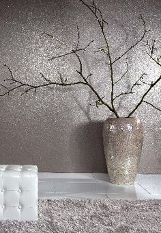 Love this metallic cork wallpaper Brian Yates