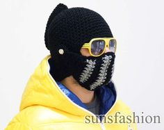knight helmet crochet beanie hat original warm black knitted cap knight hats mens awesome costume knight on Etsy, $41.91 CAD