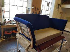 Another Duresta Ruskin sofa undergoing a complete restoration