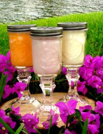 8 Ounces Scented Mason Jar Candles with by FragrantAromaCandles