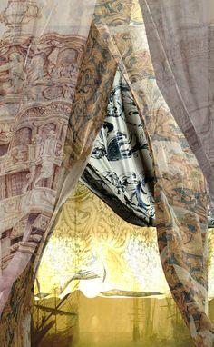 ✕ Enchanting curtains… Welcome, September: Haute Design by Sarah Klassen / #curtains #beautiful #fabric