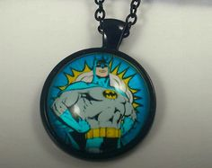 Batman The Dark Knight Necklace Comic Marvel by HardResols