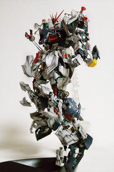 GUNDAM GUY: MG 1/100 Nu Gundam Ver. Ka 'Open Hatch' Ver. - Custom Build