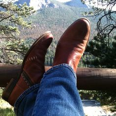Kicking back at Rocky Mountain National Park