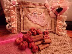 Shabby Chic Pink Ghost Sachet w/Cinnamon or by ItIsSoShabbyChic