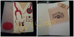 Lisy's Scraps: CARD COMPLEANNO A TEMA E NON SOLO...