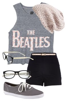 """""""{The Beatles}"""" by elenitamc ❤ liked on Polyvore featuring River Island, Keds, Kate Spade, Nordstrom, Dorothy Perkins and Beatles"""