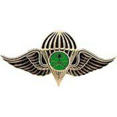 "Saudi Jump Wings Pin 2 1/2"" by FindingKing. $14.99. This is a new Saudi Jump Wings Pin 2 1/2"""