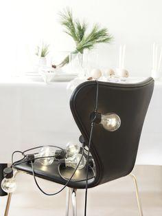 DIY Christmas Table Top Decorations - 3 Ideas you can make in 15 minutes. Juleidéer til dit bord - bordkort, lys og trækulger - Inspiration til din Jul