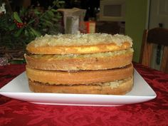 Mom's Best Layer Cakes- Japanese Fruit Cake Recipe. My grandmother didn't put the raisins or nuts n the spice layer. She put them in the frosting. Frosting Recipes, Cupcake Recipes, Baking Recipes, Cupcake Cakes, Dessert Recipes, Fruit Cakes, Yummy Recipes, Recipies, Cupcakes