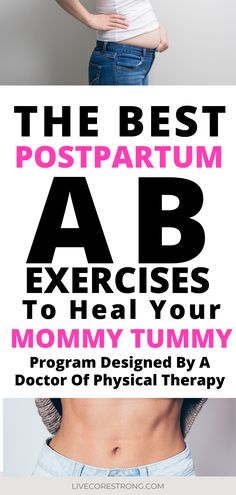 This postpartum workout plan is a perfect way to start repairing your core after pregnancy. This physical therapist explains exactly which exercises to start with at the 6 week postpartum mark. There's even a video to watch, which is really helpful. The ab exercises are easy to do at home (with baby sleeping in the next room!) 😴 Bonus! This workout will definitely help you to get rid of your mummy tummy. #postpartumworkout #forbeginners #csection #postpartumrecovery #postpartumabs #core Post Baby Workout, Post Pregnancy Workout, Mommy Workout, Pregnancy Advice, Fit Pregnancy, Postpartum Workout Plan, Postpartum Recovery, Abdominal Exercises, Core Exercises