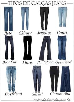 Calça jeans para mulheres musculosas