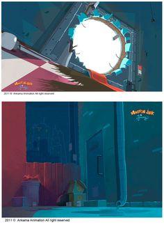 A arte de Muffin Jack & Jeremy, da Ankama | THECAB - The Concept Art Blog