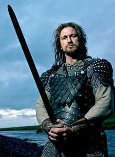 Gerard Butler in Beowulf & Grendel. This movie was really bad but I thought you might want to see it for the heck of it