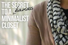 The Secret to a Badass Minimalist Closet | Tico ♥ Tina