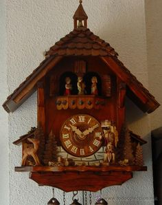Reloj de cuco moderno.