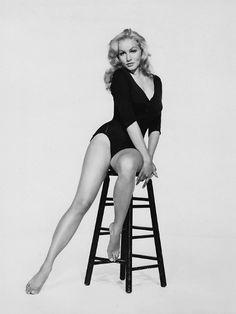 Julie Newmar, 1950s via 20th-century-man