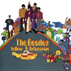 "THE BEATLES' ""YELLOW SUBMARINE"" WAS DESIGNED BY HEINZ EDELMAN."
