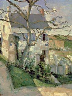 ufukorada: The House and the Tree - Paul Cezanne