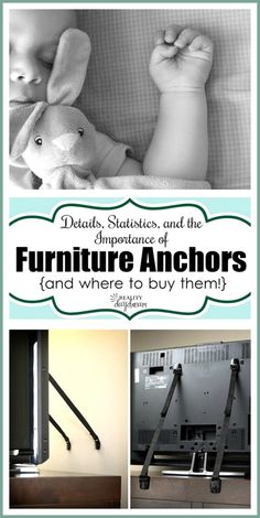The importance of anchoring your furniture... SAVE A LIFE {Reality Daydream}