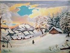 Iarna  în Maramureș