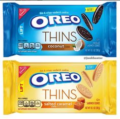 Oreo Thins Coconut and Salted Caramel