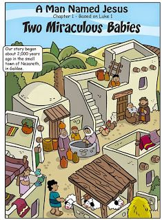 Book about John the Baptist and Jesus. Free. @  http://www.mylittlehouse.org/1---two-miraculous-babies.html