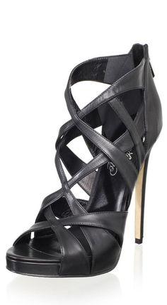 86aa43e6096 Alejandro Ingelmo Criss-Cross Stiletto Sandal ♥✤