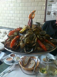 Fiskebar: super fishrestaurant, inspired by the Copenhagen Fiskebar.