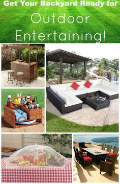 Is YOUR backyard ready for summer entertaining??