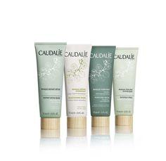 Detoxifying, Moisturizing, Purifying, Brightening. The NEW Mask Wardrobe. #Caudalie #Spa #Natural #Beauty #Skincare #Masks #DIY