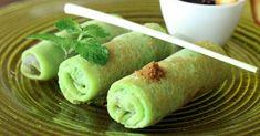 Recette de Crêpes vertes petits pois et Matcha à la viande. Facile et rapide à réaliser, goûteuse et diététique. Ingrédients, préparation et recettes associées.