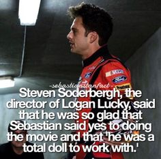 Lol he's the only reason I watched the movie and he was only in it for 5 minutes max 😂🤷🏼♀️ Sebastian Stan, Marvel Actors, Marvel Dc, Logan Lucky, Bucky Barnes Captain America, Avengers Series, James Buchanan, Stucky, Irish Men