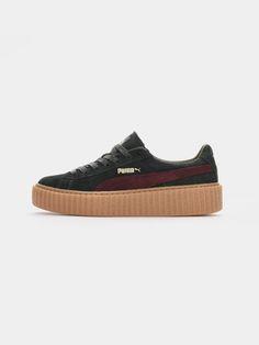 PUMA BY RIHANNA , Creeper Gucci    #shopigo #shopigono17 #ss16 #conceptstore #onlinestore #onlineshopping #buyonline #onlineconceptstore #womenswear #streetstyle #streetfashion #black #puma #rihanna #readytowear #footwear #shoes