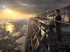 """""""The Crossing"""" (El Paseo), una película protagonizada por Joseph Gordon-Levitt sobre Philippe Petit, el funambulista francés que cruzaron las torres gemelas caminando sobre un cable en 1974"""