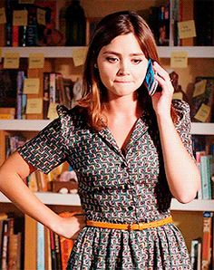 The little treasure that is Jenna Coleman <3 #Clara