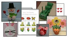 holiday worksheets and crafts