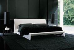 Interesting Cool Bedroom Designs for Guys: Amazing Black And White Bedroom Design For Men Team Home Missions ~ articature.com Bedroom Design Inspiration